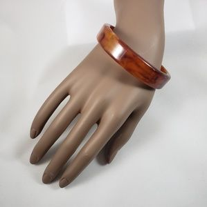 Jewelry - Brown Acrylic Bangle  Bracelet